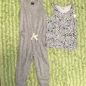 Baby Gap romper and DVF tank NWT 2T-3T New!